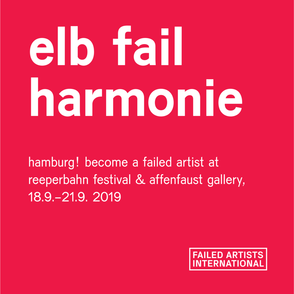 Hey, Hamburg! Become a Failed Artist at Reeperbahn Festival & Affenfaust Gallery! 1
